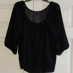 Multilayered Black Top